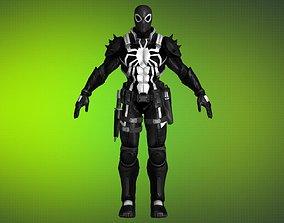 3D model Gameready Venom Agent - 09 - max fbx obj png