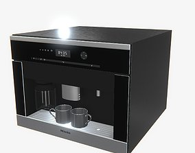 3D model Highly detailed Coffee Machine Miele PBR