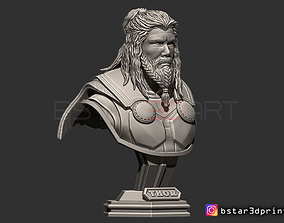 Thor Long Beard Bust-Avenger -Infinity 3D print model 2