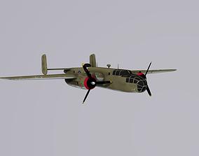 3D North American B-25 Mitchell