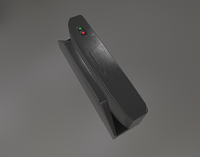 Magnetic Card Reader 3D asset game-ready