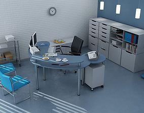 office-room Office Room 3D model