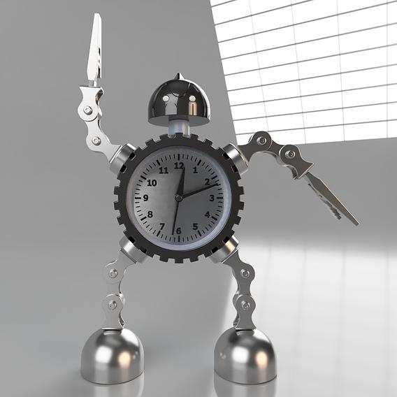 Robot-Clock