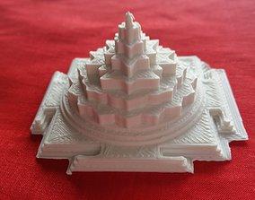 3D model Shri Chakra