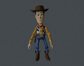 WUDY-006 Animated Woody 3D model
