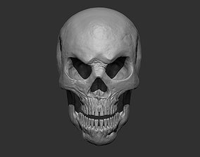 3D printable model Stylized Skull
