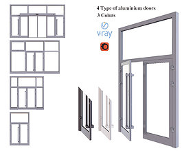 3D Aluminium door