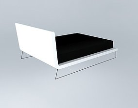 Upholstered bed 3D