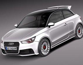 sport 3D Audi A1 Quattro 2013