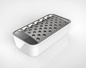 grater and tray 3D model