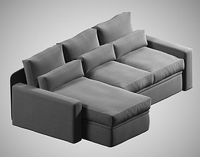 3D photorealistic sofa 01