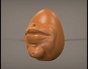 Face Egg 3D print model
