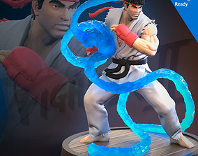 Ryu 3D Printing Ready Fan art