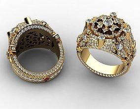Diamond Rings for Men 3D print model