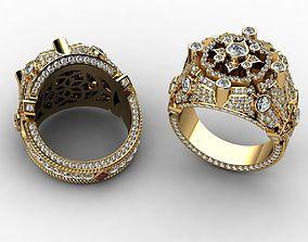 3D printable model Diamond Rings for Men