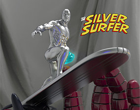 The Silver Surfer 3D printable model