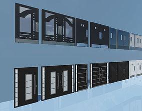 3D asset PBR Doors