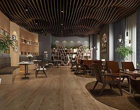 Business Restaurant - Coffee - Banquet 20 3D