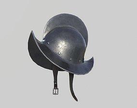 Conquistador Morion Helmet02 3D model