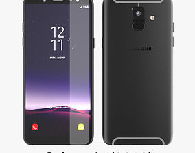 Samsung Galaxy A6 2018 s9 3D model