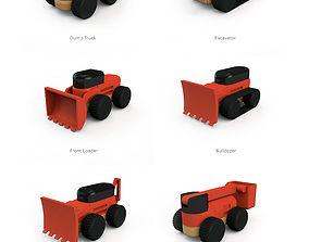 building machinery set 3D printable model