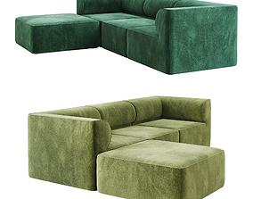 Eave Modular Sofa option 02 3D model