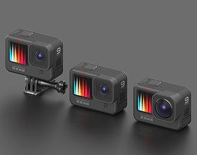 3D GoPro HERO 9