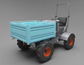 Mini Dump Truck 3D model