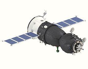 3D Spaceship Soyuz TMA