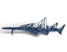 Sawshark Dust Voronoi 3D asset