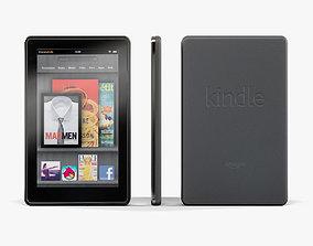 3D asset Amazon Kindle Fire 8Gb tablet