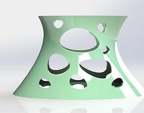 Irregular Phone Holder Water 3D print model