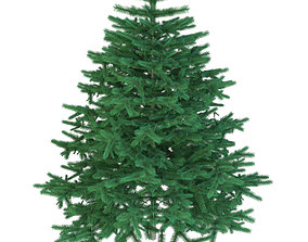 Christmas tree low 3D model realtime
