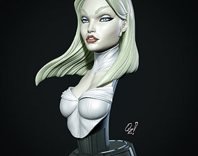 Campbells Emma Frost Bust 3D printable model