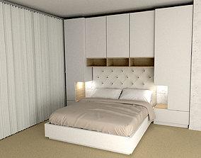 Bedroom P09616 3D model