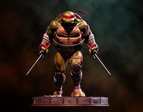 Fanart TMNT Raphael Statue 3D printable model