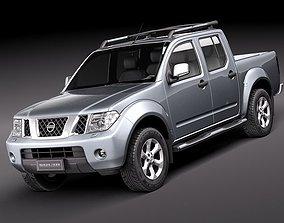 3D Nissan Navara 2010