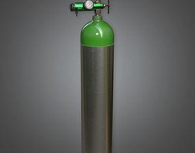 Medical Cylinder HPL - PBR Game Ready 3D asset