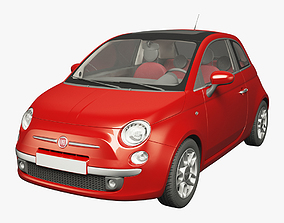 Fiat 500 Hatchback 3D