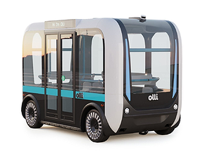 3D model Driverless Bus Local Motors Olli