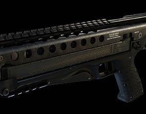 KelTec P50 pistol 3D asset