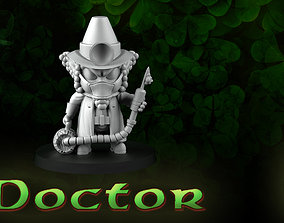 3D printable model Doctor Leprechaun