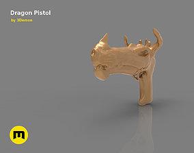 Fantasy Dragon Pistol 3D printable model