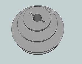 Unimat DB or SL compatible motor pulley 3D print model