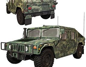 Humvee Military M1151 3D model
