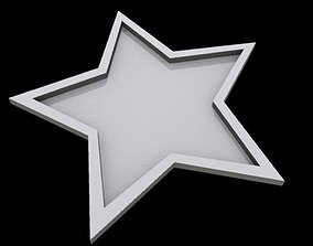 STAR Tray 3D asset low-poly