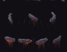 3D Cartoon hell - wail abyss - chains