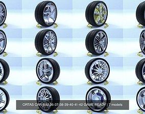 3D ORTAS CAR RIM 36-37-38-39-40-41-42 GAME READY