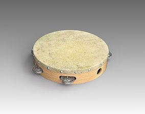Tambourine 007 3D model