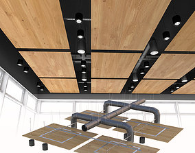 Ceiling system Armstrong 3D